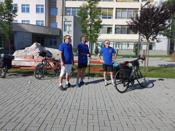 Trojica biciklista sa Pala krenuli na put u Moskvu