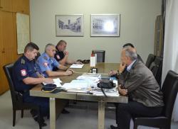 Laketa - Šiljegović: Dobra saradnja policije i lokalne uprave