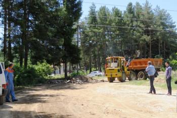 Opština Nevesinje počela sanaciju Tople ulice
