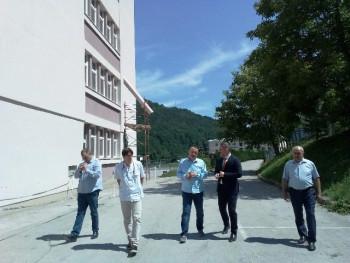 Шеранић: Модернизација Универзитетске болнице у Фочи тече добром динамиком