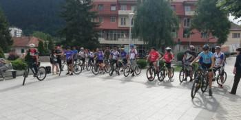 Trkom biciklista u Foči počela 'Drinska avantura'