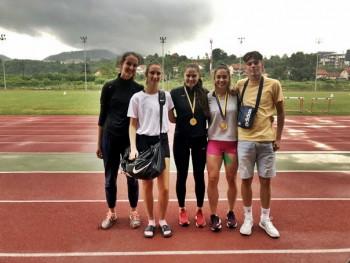 Trebinjskim atletičarima dva naslova državnog prvaka