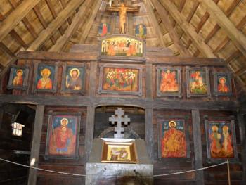 Osveštanje Crkve Svetog Ćirila i Metodija, prisustvuje Cvijanovićeva