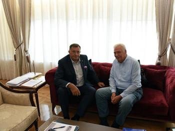 Dodik i Pavić usaglasili elemente koalicionog sporazuma