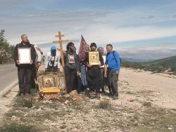 Hodočasnici iz Rusije u Hercegovini