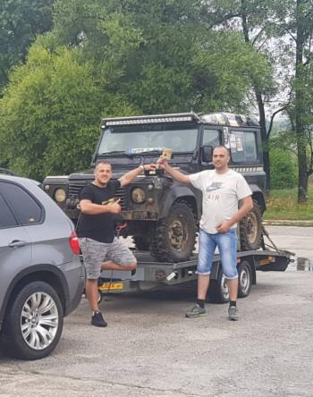 Trebinjac i Bilećanin osvojili prvo mjesto na džipijadi u Šipovu