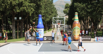 Počeo turnir u uličnom basketu