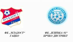 "Najava utakmice: FK ""Mladost"" Gacko i FK ""Ilićka 01"" Brčko Distrikt"