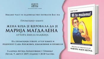 Promocija knjige 'Žena koja je vjerovala da je Marija Magdalena'
