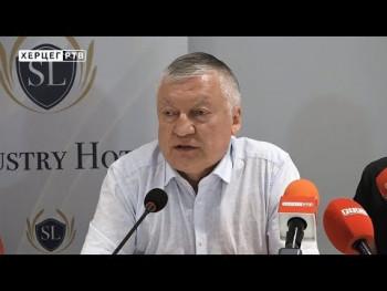 Anatolij Karpov posjetio Trebinje (VIDEO)
