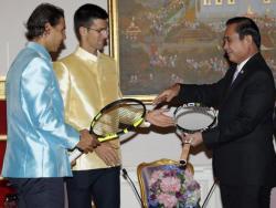 Tajland- Novak i Rafa igraju revijalni meč