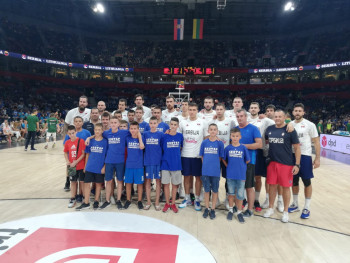 Mališani KK 'Leotar' na turneji po Srbiji