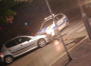 Trebinjac se sudario sa policijskom patrolom u centru grada