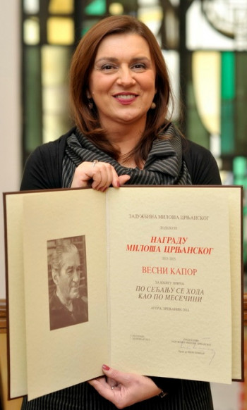Književno veče Vesne Kapor Samardžić u Nevesinju