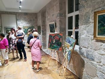 Отворена изложба слика Милене Шотра Гаћиновић