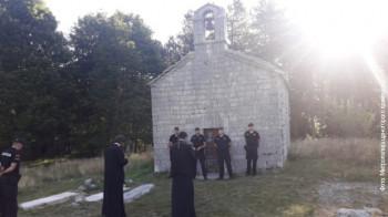 Забрањена литургија у цркви на Ивановим коритима