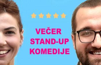 Вече stand-up комедије у Културном центру