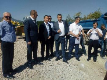 Počela izgradnja zapadne obilaznice: Direktor Puteva RS obećao i rekonstrukciju puta Trebinje - Ljubinje