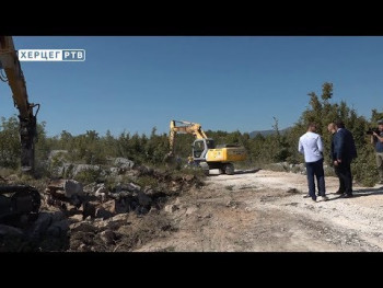 Trebinje: Počela izgradnja zapadne obilaznice (VIDEO)