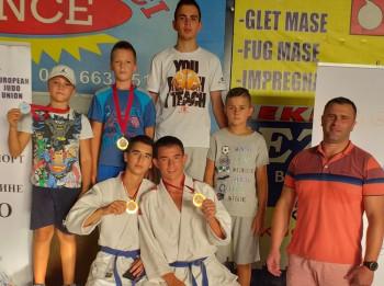 Džudisti Leotara osvojili četiri medalje