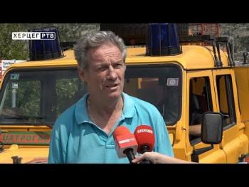 Požari na području Trebinja uspješno lokalizovani (VIDEO)