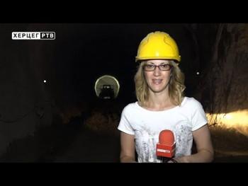 Probijeno skoro 8 km tunela za HE 'Dabar' (VIDEO)