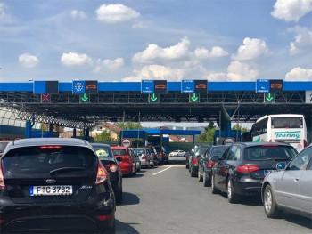 Pojačan saobraćaj na graničnim prelazima
