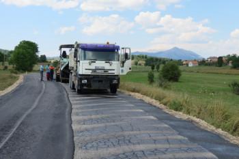 U toku rehabilitacija regionalnog puta Nevesinje-Berkovići