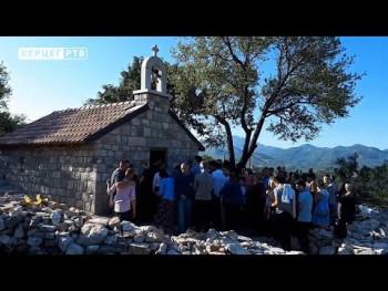 U pomen nedavno preminulom prijatelju obnovljena stara crkva (VIDEO)