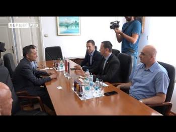 Ambasador Kine Ji Ping u posjeti Trebinju (VIDEO)