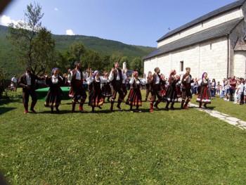 Članovi 'Zelengore' na Festivalu folklora 'Slađan Slađo Tijanić' u Plužinama