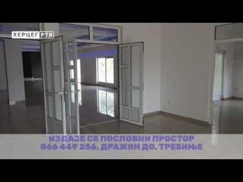 Oglas: Izdaje se poslovni prostor u Trebinju (VIDEO(