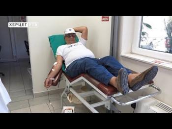 Требиње: Припадници Десантне пјешадије даровали крв (ВИДЕО)