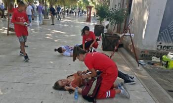 Волонтери Црвеног крста одржали показну вјежбу