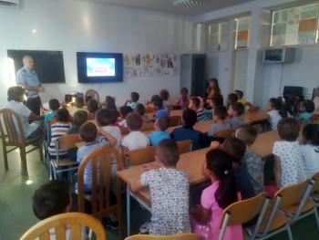 U školi u Gorici održano predavanje o saobraćajnim pravilima
