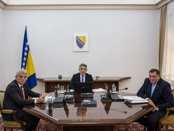 Predsjedništvo BiH u oktobru putuje u Beograd na sastanak sa Vučićem i Erdoganom