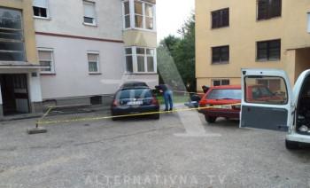 Auto zamjenika načelnika Policijske uprave namjerno zapaljen