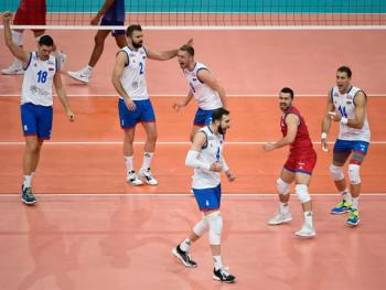 Odbojkaši Srbije u finalu Evropskog prvenstva