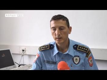 PU Trebinje: Zaplijenjeno nekoliko hiljada paklica cigareta (VIDEO)