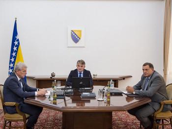 Članovi Predsjedništva sutra na sastanku trilaterale u Beogradu