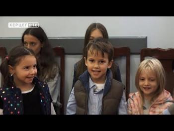 Obilježavanje Dječije nedjelje i u Gradskoj upravi (VIDEO)