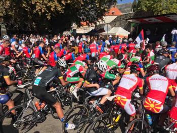 Trebinje centar regiona: Počinju trke Balkanskog prvenstva u biciklizmu (FOTO)