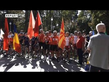 Trebinje: Počelo Balkansko prvenstvo u biciklizmu (VIDEO)