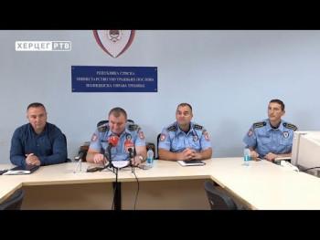 ПУ Требиње: Стање безбједности у Херцеговини под контролом (ВИДЕО)