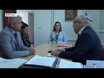 Ministar Milunović u posjeti Domu penzionera Trebinje (VIDEO)