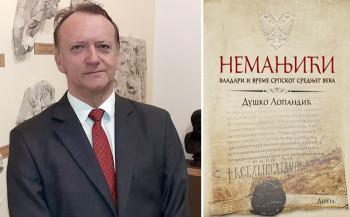 Predstavljena knjiga 'Nemanjići: vladari i vreme srpskog srednjeg veka'