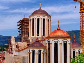 Mostar: Do kraja godine biće završeni glavni radovi na Sabornom hramu Svete Trojice