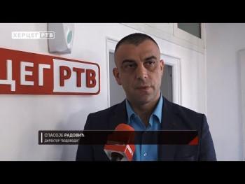 Izgradnjom novog rezervoara u naselju Hrupjela brojna domaćinstva priključena na gradski vodovodni sistem (VIDEO)
