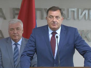 СНСД и ДНС о наставку коалиционе сарадње