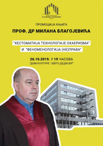 Najava: Promocija knjiga Milana Blagojevića u Bileći
